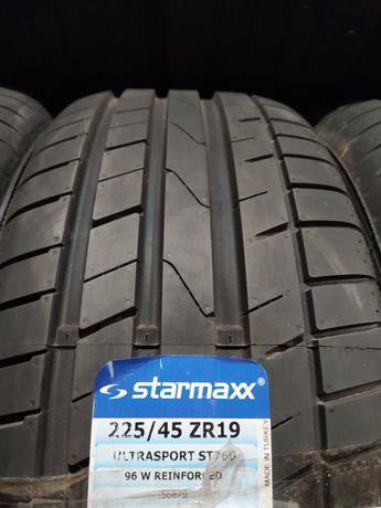 666 Новые турецкие шины R19 225/45 Mazda 6 Passat b7 b8 Honda Accord