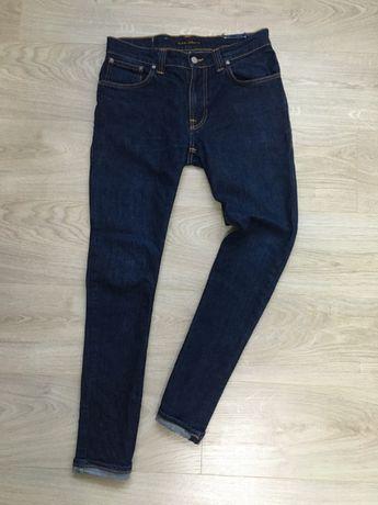 чоловічі завужені джинси Nudie