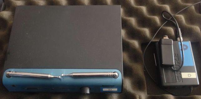 SHURE Emissor e receptor sem fios para instrumentos e lapelas
