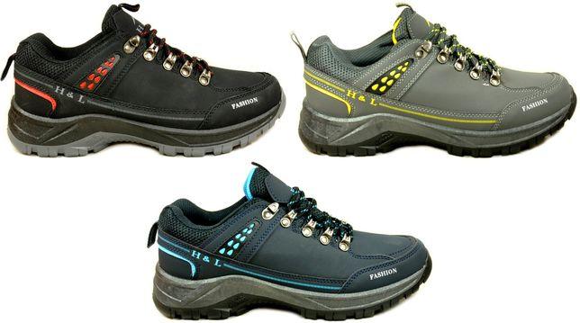 Trwałe Mocne MĘSKIE GÓRSKIE BUTY TREKKINGOWE Adidasy 3 kolory r.40-45