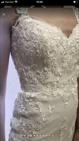 Свадебное платье w1 white one
