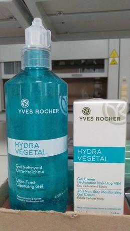 Средства по уходу серии Hydra Végétal Ив Роше Yves Rocher