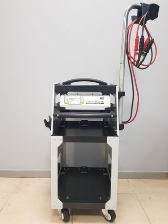 Estabilizador de corrente Gys Flash 100.12 HF + Carro de Apoio