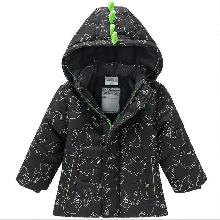 Куртка зимняя с динозаврами Topolino Topomini 74 Киев - изображение 1
