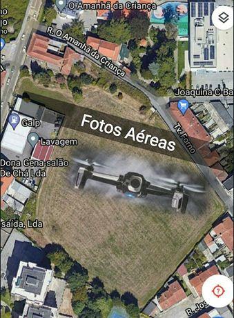 Fotos e Videos Aéreas com Drone