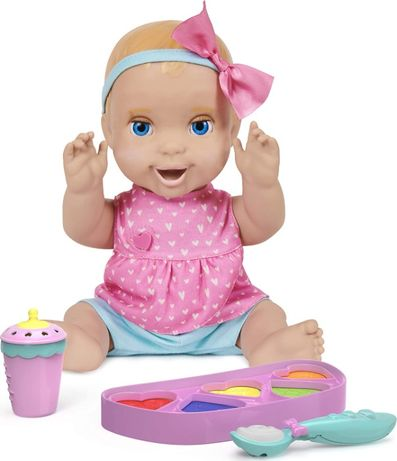 Интерактивная кукла Лувабелла Мия Luvabella Mealtime Magic Mia