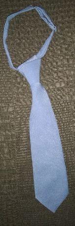 Gravata azul bebé menino