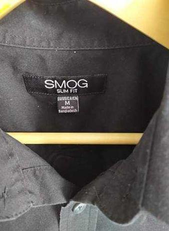 Koszula męska czarna M