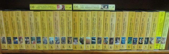 Colecção em 30 cassetes VHS, National Geographic VIDEO