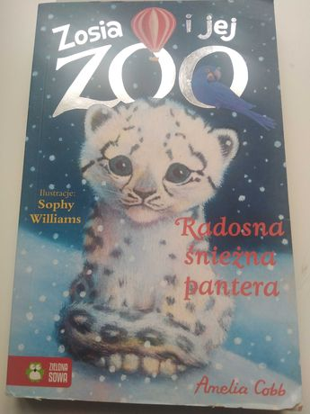 Książka radosna śnieżna pantera