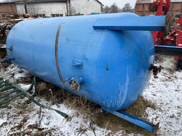 Zbiornik stalowy ciśnieniowy asenizacyjny hydrofor 11m3
