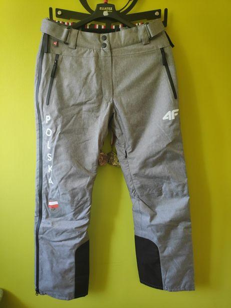 Nowe Spodnie 4F S L Zimowe Narciarskie Damskie membrana 20000