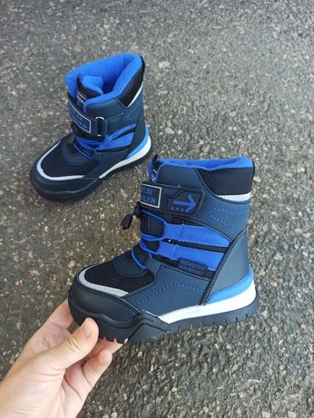 Зимние термо ботинки Томм