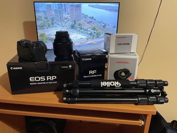 Canon EOS RP w zestawie