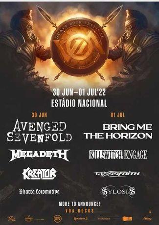 Voa Metal Fest - 2x pass para 2 dias