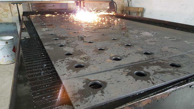 Cięcie plazmą CNC plazma ogrodzenia części maszyn