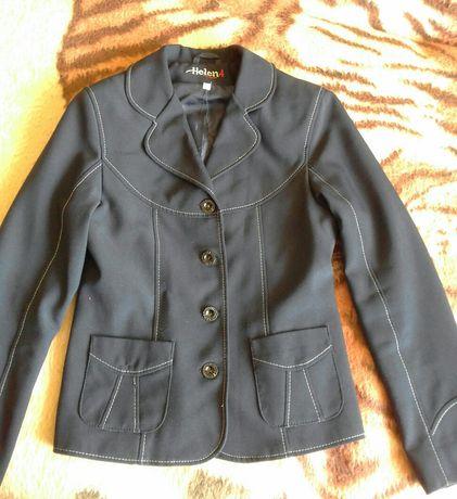 Синяя школьная форма для девочки (р.134) (пиджак и брюки)