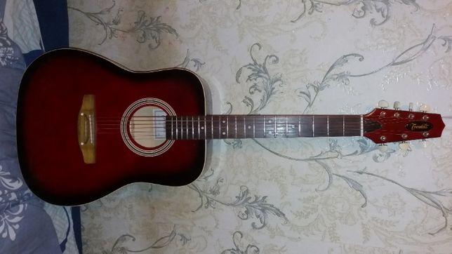 Продам отличную новую полноразмерную семиструнную гитару ТРЕМБИТА