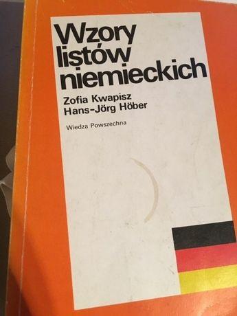 Wzory listów niemieckich-różne okazje,okoliczności