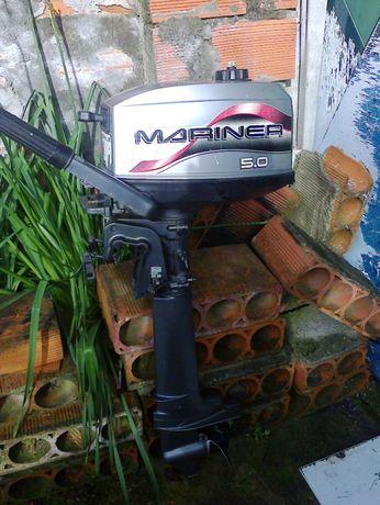 Motor Mariner 5 Hp Para Peças / Bloco Yamaha