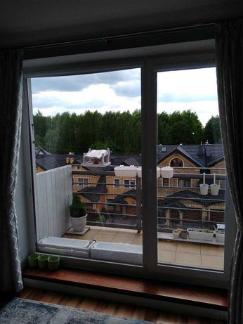 Witryna okno balkonowe PCV wymiar około 226x221cm (szer. x wys.)