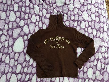 свитер на девочку 9-10 лет