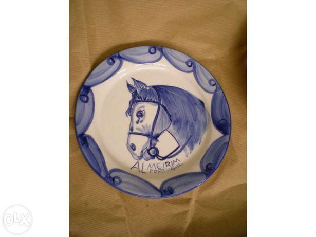 Prato de pendurar cabeça de cavalo Almeirim