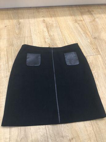 Mini spódniczka czarna Esprit