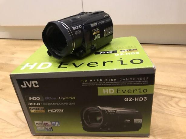 Kamera JVC GZ-HD3E - Full HD 60 GB