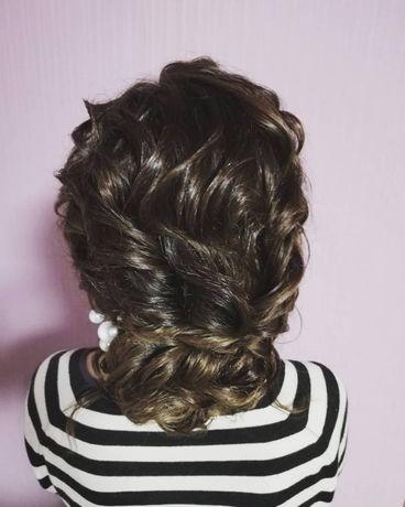 Причёски на свадьбу и торжество