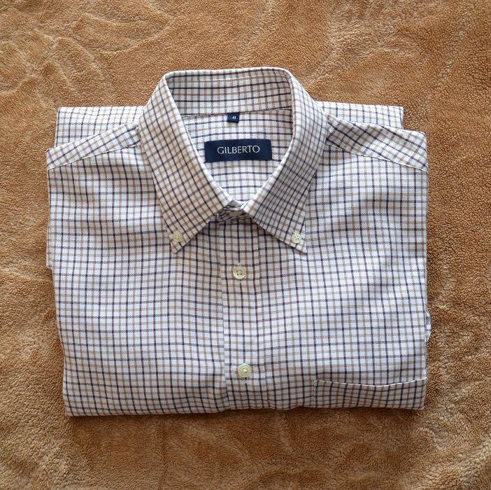 Koszula Gilberto, kratka, rozm. 41, bawełna Somonino - image 1