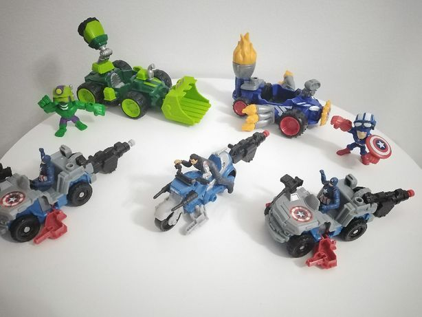 zestaw avengers capitan ameryka hulk wyrzutnia
