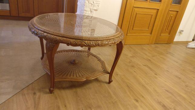 Stolik stół drewniany, okrągły 100 cm