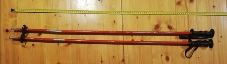 Kijki narciarskie dziecięce 100 cm