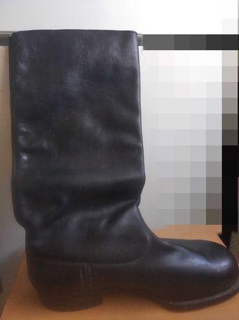 Новые сапоги кожаные СССР
