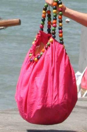 Продам женскую сумку розового цвета