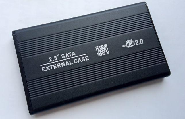 "USB 2.0 внешний карман кейс для 2.5"" SATA HDD SSD диска винчестера"