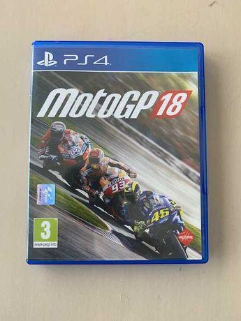 MotoGP 18 PS4 Como Novo
