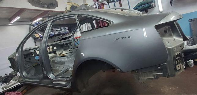 Кузов Лонжерон Четверть Крыша Порог Задняя Панель Стойка Audi A6C6 05-