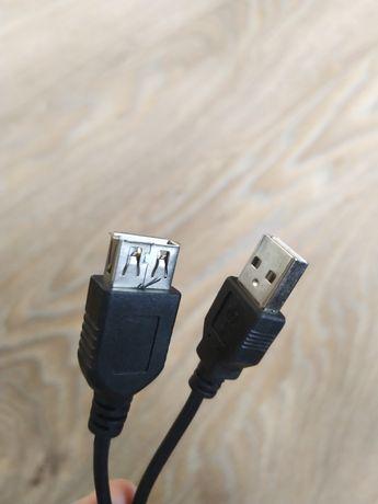 Kabel USB(M)-USB(F) przedłużenie 50-200 cm 0,5-2 m