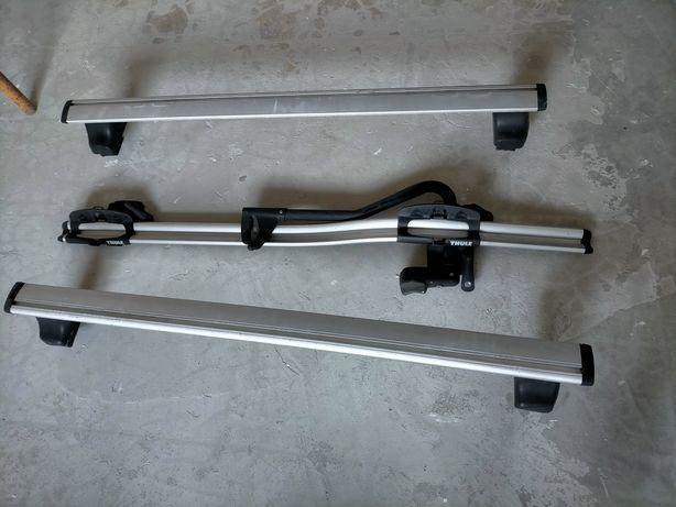 Barras e suporte de bicicleta THULE