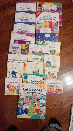 Baby Einstein zestaw książek po angielsku