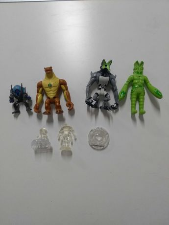 Figurki Ben ten i Spider-Man