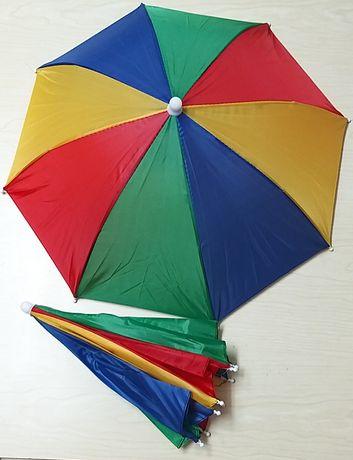 Chapéu de Chuva, de Cabeça.