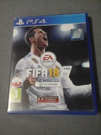 Gra FIFA 18 na PS4 PL wersja językowa