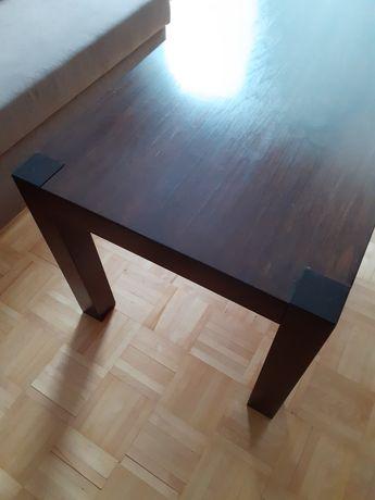 Piękny! Stylowy Stolik Kawowy Ława Dębowa 100% Lite Drewno Dąb 120x60