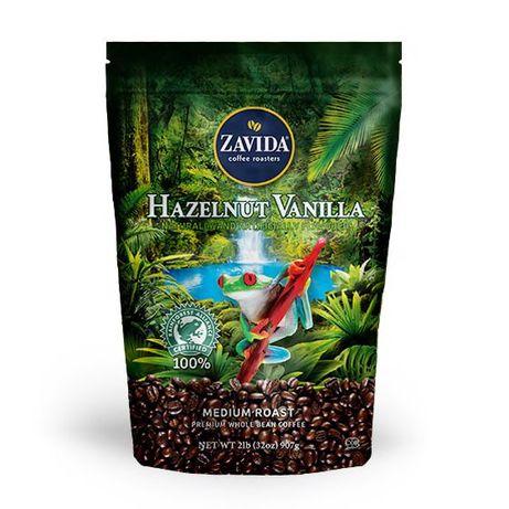"""Кофе Zavida Hazelnut Vanilla 100% Rainforest """"Фундук Ваниль 100% Рейнф"""
