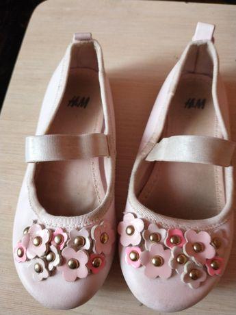 Buty pantofelki trzesiki