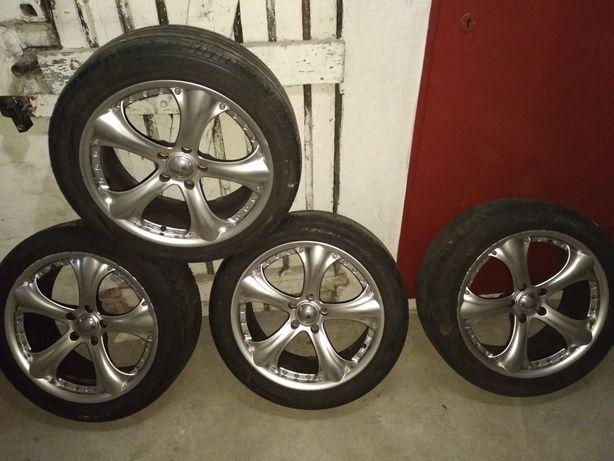 Alufelgi 18 rozstaw 5x100 et 35 VW Swat Audi Skoda Alfa Romeo