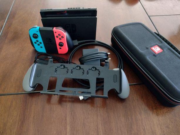 Nintendo switch v2 super jakość + opakowanie przenośne